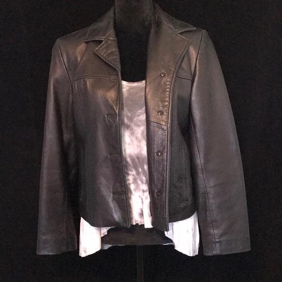 9af11d41f Vintage Siena Studio leather jacket